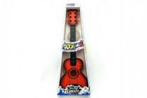 Gitara s trsátka plast 65cm - mix farieb