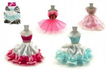 Šaty / Oblečenie na bábiky v sáčku 27x30cm - mix variantov či farieb