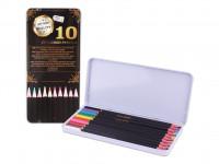 Pastelky Exclusive art v plechovej krabičke 10 ks - VÝPREDAJ