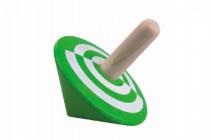 Káča zelená dřevo 6cm