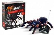 Děsivá Tarantule RC plast na baterie 4xAA a 1x9V 27MHz