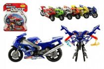 Motorka/Robot transformer plast 11cm - mix variant či barev
