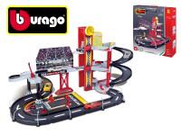 Bburago Racing Garage + Ferrari 1:43