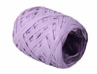 Stuha rafi vajíčko svetlo fialová šírka 12,5mm dĺžka 20m