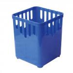 odkapávač na příbory 1 přihrádka čtvercový plastový - mix barev