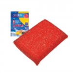 houbička na nádobí LINDA na teflon 12x8x2cm - mix barev