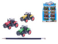 Traktor 7,5 cm kov - mix barev