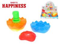 Míček puzzle 12 cm 5 ks Baby´s Happiness