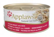 Applaws Cat konz. kuracie prsia a kačica 70 g