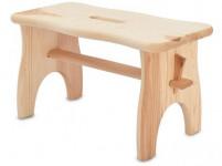 stolička 38x19x21cm, nosnosť 100kg driev. borovica