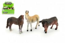 Zvířátka farma 12cm plast - mix variant či barev