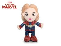 Avengers Kapitán Marvel plyš 30 cm stojící