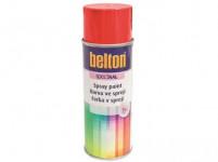 farba v spreji BELTON RAL 9010, 400ml bi matná