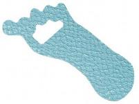 podložka protisklz. NOHA 9x3,5cm (12ks) - mix farieb