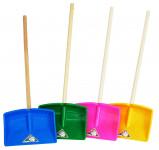 Plastic rake - children's Teddy with handle 77 cm - VÝPREDAJ