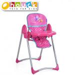 Jedálenská stolička pre bábiky 3v1, Birdie