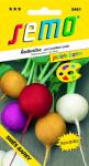 Semo Reďkovka zmes farieb 5g - séria Paleta farieb