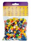 Mix perlí 70g hnědo-přírodní