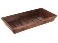 miska obdĺž. 39x20x5,5cm drevo