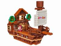 PlayBig Bloxx Máša a medveď Míšove loď