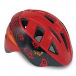 Spokey CHERUB Dětská cyklistická přilba IN-MOULD, 48-54, červená