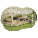 Klec hlod. křeček Pico Eco zelená/béžová RW 57 x 40 x 31 cm