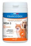 Francodex Omega 3 Capsules pes, mačka 60tab