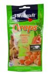 Vitakraft Rodenta Rabbit poch. Drops carrots 75g