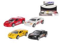 Auto sportovní kov 8,5 cm zpětný chod - mix variant či barev