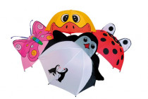 Detský dáždnik zvieratká dĺžka 56cm - mix variantov či farieb