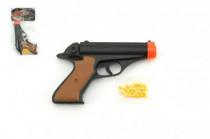 Pistole na kuličky 15cm + kuličky plast