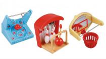 "Hračka pták plast ""hry"" mix druhů, Karlie 6 x 6 x 6 cm - mix variant či barev"