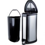 koš odpadkový obdélníkový s automatickým bezdotykovým otevíráním 12l nerez + plastový