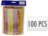 slamky s kĺbom NEON 7x210mm (100ks) - mix farieb