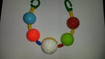 Colored balls - a barrier for a stroller - VÝPREDAJ