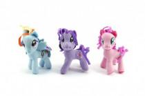 Přívěšek poník My Little Pony plyš 9cm - mix barev