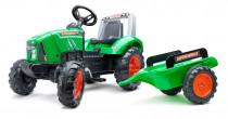 Traktor šlapací Supercharger zelený