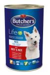 Butcher's Dog Life s hovězím masem a rýží konz. 1200g