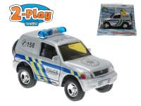 Mitsubishi kov policie 12 cm zpětný chod na baterie se světlem a zvukem 2-Play