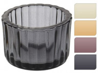 svietnik sklo pr.5,5x3,7cm - mix farieb