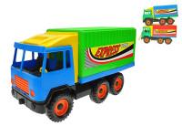 Auto nákladní kontejnerové 38 cm - mix barev