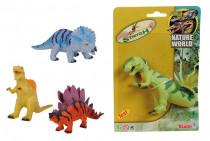 Gumový strečový dinosaurus, 18 cm - mix variant či barev