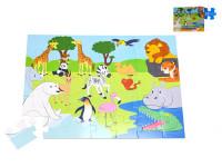 Puzzle zoo 60x44 cm 35 dílků