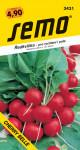 Semo Reďkovka červená - Cherry Belle na pole aj na rýchlenie 1,5g