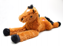 Plyšový kôň hnedý 80 cm