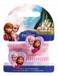 Vlasové gumičky so srdiečkami Ľadové kráľovstvo
