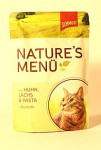 Schmusy Cat Nature Menu vrecko kura + losos 100g