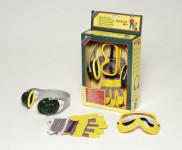 Bosch set - slúchadlá, rukavice, okuliare