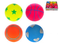 Loptička 6,5 cm - mix variantov či farieb