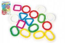 Reťaz / zábrana tvary plast 7cm 3m +